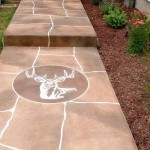 Visions N Crete decorative concrete flagstone