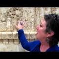Ellie Ellis using the Engrave-A-Crete Wasp